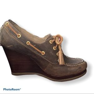 SPERRY Seabourn  wedges